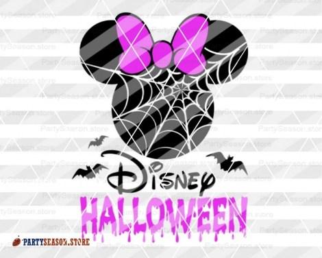 Halloween Minnie Purple