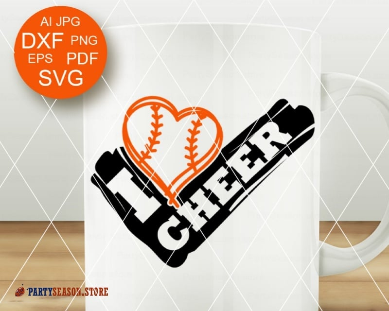 Download Sports Hearts – Svg, Dxf, Eps Digital Cut Fies SVG