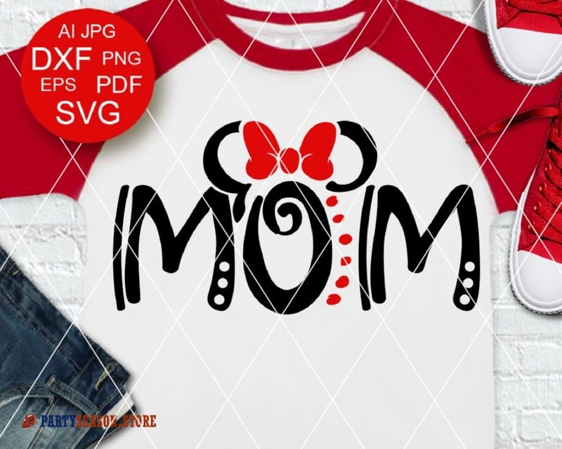 MOM shirt svg